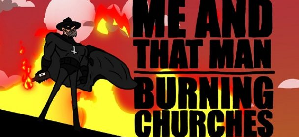 """News: ME AND THAT MAN mit Matt McNerney of Grave Pleasures """"Burning Churches"""" Clip online!"""
