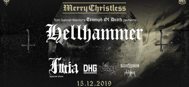 News: MERRY CHRISTLESS 2019 in Warschau am 15.12. mit u.a. HELLHAMMER: TRIUMPH OF DEATH, Bölzer, Furia uvm.