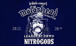 News: Tribute to Motörhead mit Leader Of Down & Nitrogods am 28.12.19 in Berlin