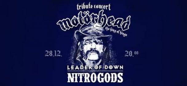 News: Tribute to Motörhead mit Leader Of Down & Nitrogods am 28.12.19 in Berlin
