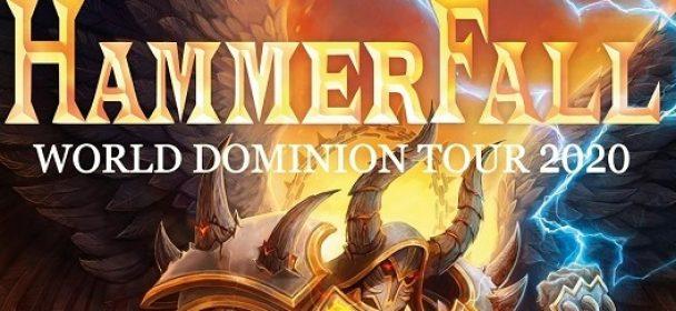 """Vorbericht: Hammerfall mit Battle Beast und Serious Black auf """"World Dominion 2020"""" Europa-Tour"""