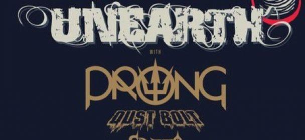 News: SINARO – Europatour ab Februar mit UNEARTH, Prong und Dust Bolt!