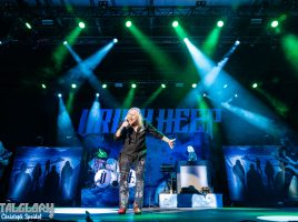 """Music & Stories 2020"" mit Uriah Heep, Nazareth und Wishbone Ash, Host Andy Scott, Swiss Life Hall Hannover, 24.01.2020"