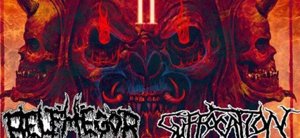 """News: BELPHEGOR + SUFFOCATION – kündigen """"Europe Under Black Death Metal Fire II"""" Tour an"""