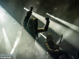 """Dimmu Borgir & Amorphis """"European Tour 2020"""", Support Wolves in the Throne Room, 01.02.2020, Swiss Life Hall, Hannover"""