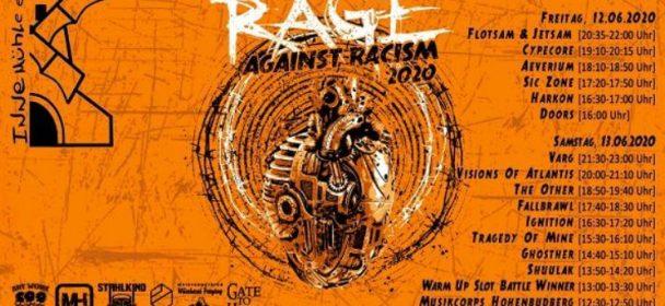 News: Rage against Racism Open Air 2020 in Duisburg am 12. und 13. Juni