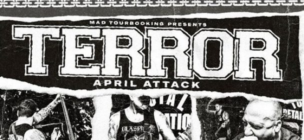 News: TERROR kündigen eine Europa-Tour 2020 an!