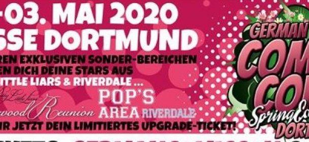 News/Vorbericht: German Comic Con – Spring Edition in Dortmund 2020, mit u.a. einige Star Wars-Stars!