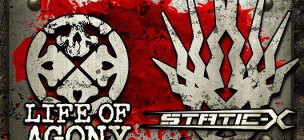 News: LIFE OF AGONY und STATIC X spezielle Sommer-Shows in Deutschland!