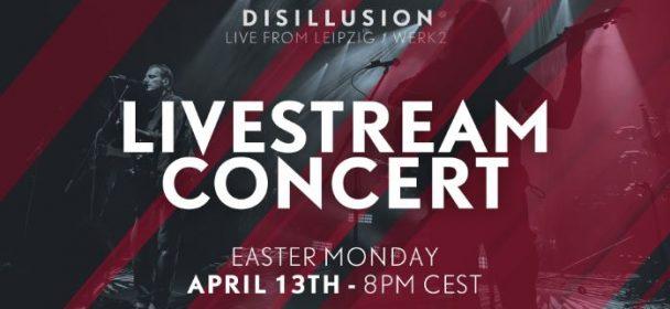News: Disillusion – exclusive live concert stream!