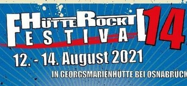 """Hütte Rockt Festival 14"" vom 12. – 14.08.2021 in Georgsmarienhütte"