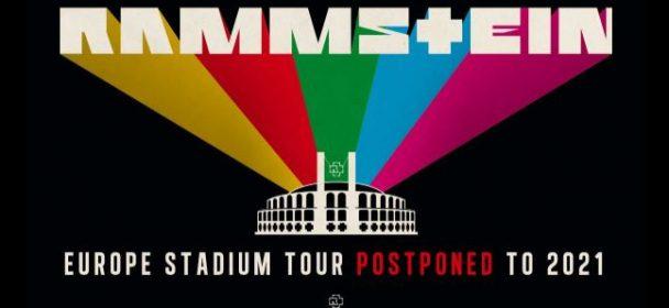Europe Stadium Tour postponed to 2021 – new dates!
