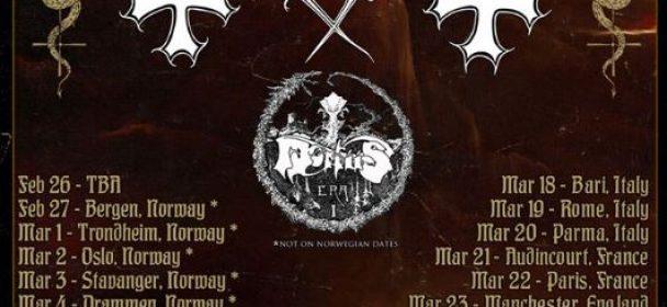 News: MORTIIS – the European Tour with MAYHEM postponed to 2021