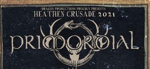 """News: Primordial kündigen """"Heathen Crusade III"""" Tour für April 2021 mit Naglfar und Rome an"""