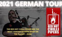 News: THE RED HOT CHILLI PIPERS – 'Fresh Air Welttournee' 2021: Termine verlegt auf Okt/Nov 2021