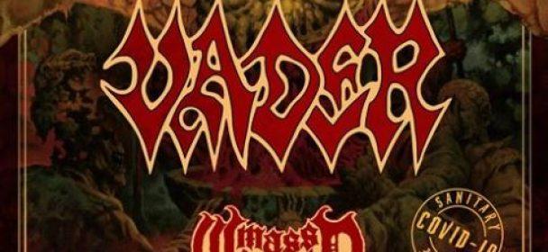 "VADER, Mass Worship ""PANDEMIC MADNESS TOUR"", 03.09.20, Die Druckerei, Bad Oeynhausen"