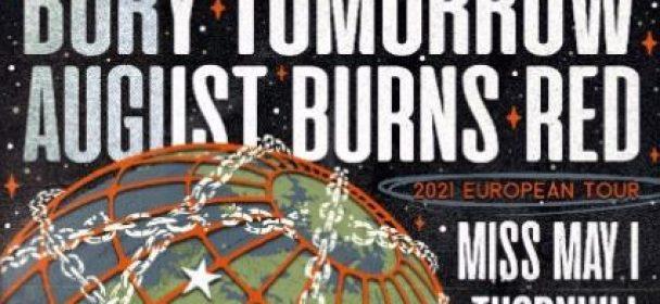 News: AUGUST BURNS RED – Announce Fall 2021 European tour! Co-headline run with Bury Tomorrow