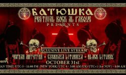 "News: Watch for free:  BATUSHKA – ""BLACK LITURGY"" live stream – 31.10.20 !!!"