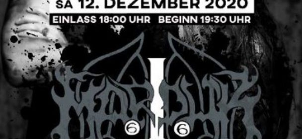 News: MetalAttack: MARDUK + Support – 30 Year Anniversary Tour am 12.12. in Bad Oeynhausen.