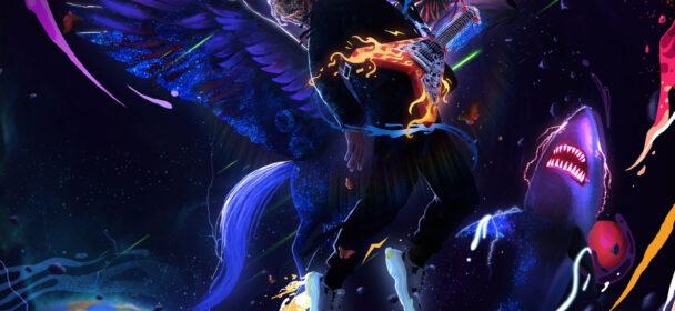 TRAVIS BARKER & TRIPPIE REDD (USA) – Neon Shark Versus Pegasus
