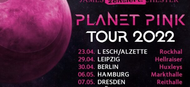 """News: JBO – """"Planet Pink"""" – neues Album und Tour 2022"""