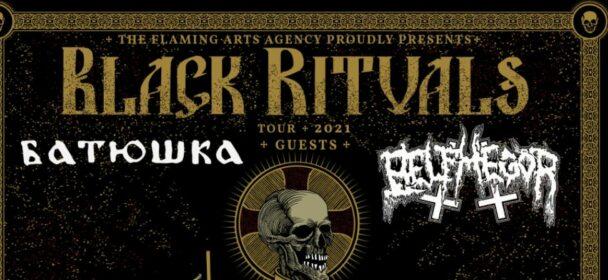 News: BLACK RITUALS TOUR 2021 TO EU & UK with BATUSHKA & BELPHEGOR!!!