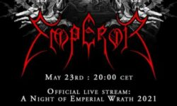 News: EMPEROR announce official livestream event 'A Night Of Emperial Wrath 2021' to mark 30 years since their formation