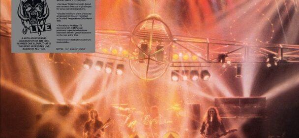 """News: Motörhead veröffentlichen das Deluxe CD Boxset und außergewöhnliche 40th Anniversary Editionen """"NO SLEEP 'TIL HAMMERSMITH"""" am 25. Juni"""