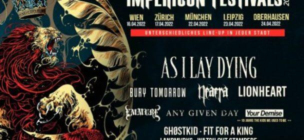 News: Impericon Festival 2022 – Ankündigung der ersten Bands!!!