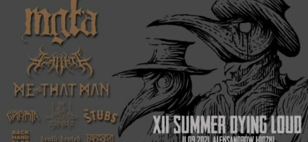 News: Summer Dying Loud Festival am 11.09.2021 – Timetable/Line-Up bekannt!